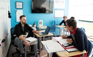 Small classes in private school