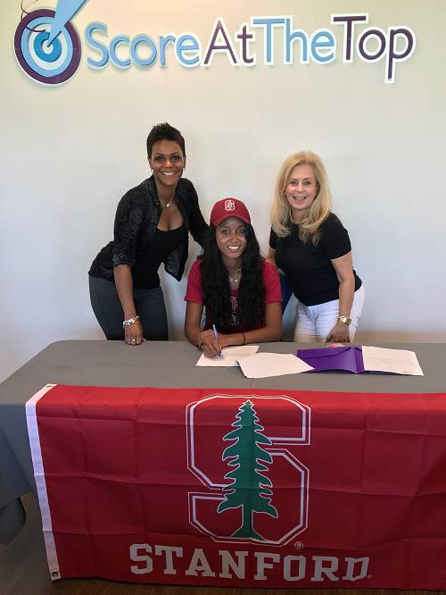Score Academy Student and Tennis Phenom Signs with Stanford