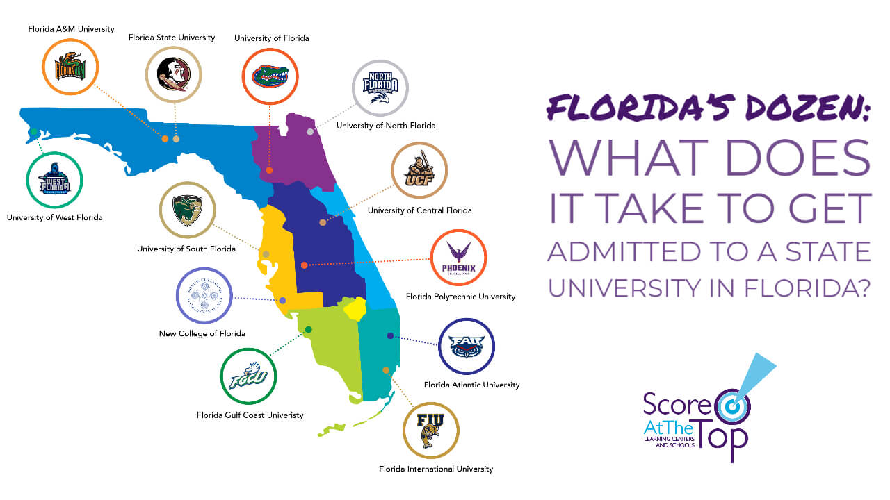 What does it take to get into a state university in Florida?